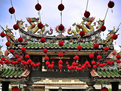 Thean Hou Temple George Town  Malaysia