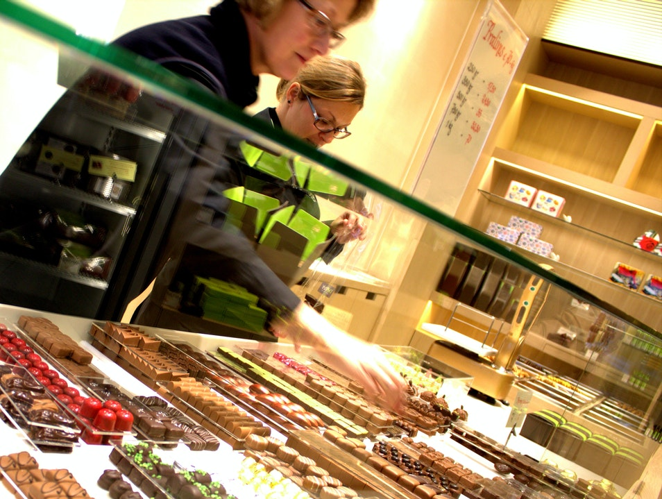 The Quintessential Belgian Chocolate Experience