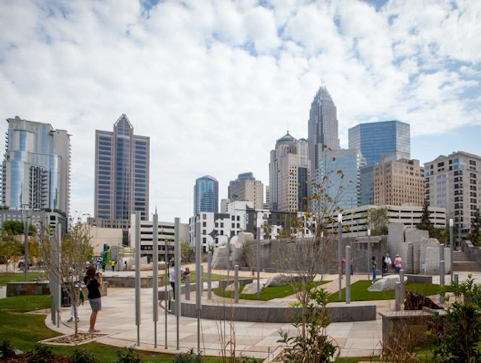 Recreation in Uptown Charlotte Charlotte North Carolina United States