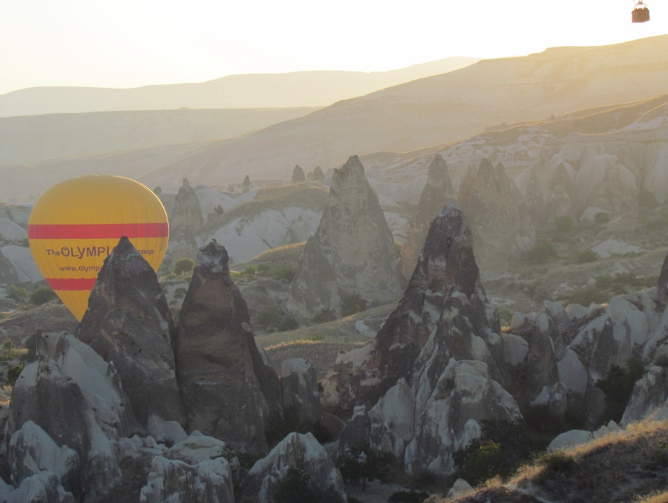 Turkish Delight: Ballooning over Cappadocia Göreme  Turkey