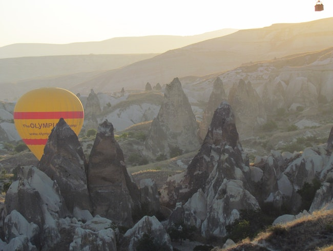 Turkish Delight: Ballooning over Cappadocia