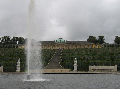 Sanssouci Palace Potsdam  Germany