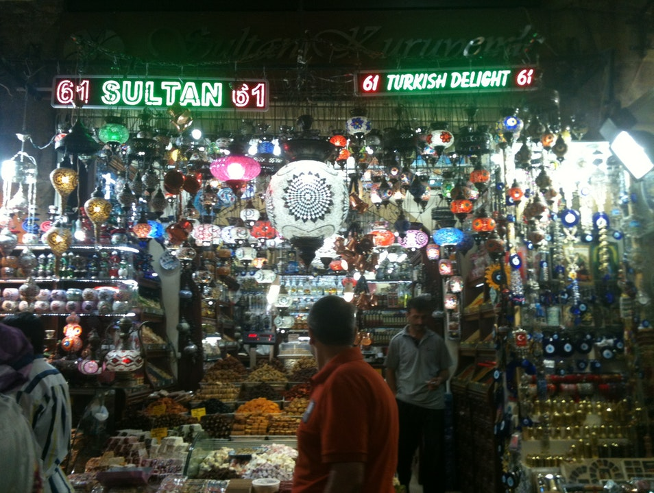 Turkish Delight at the Covered Bazaar