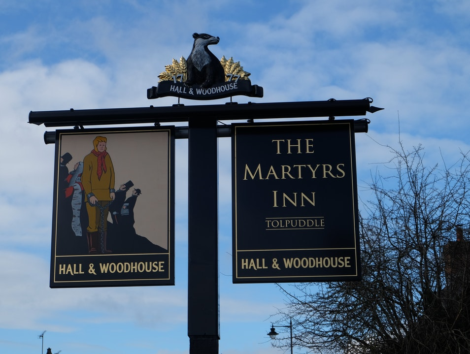 Tolpuddle and the Martyrs Inn Tolpuddle  United Kingdom