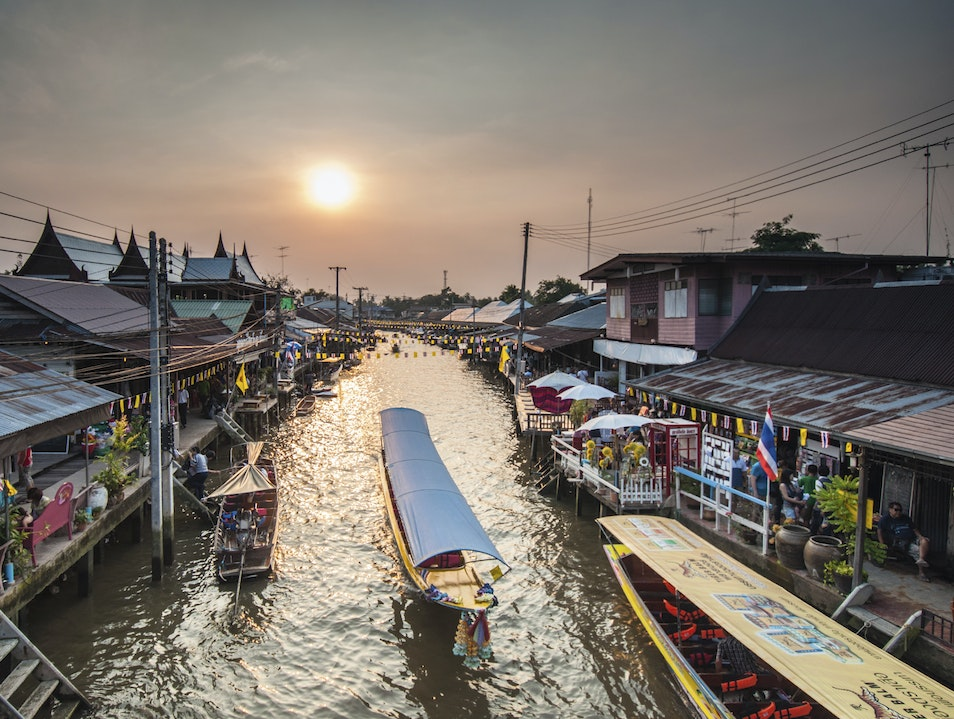 Browse from a Boat at one of Bangkok's Floating Markets