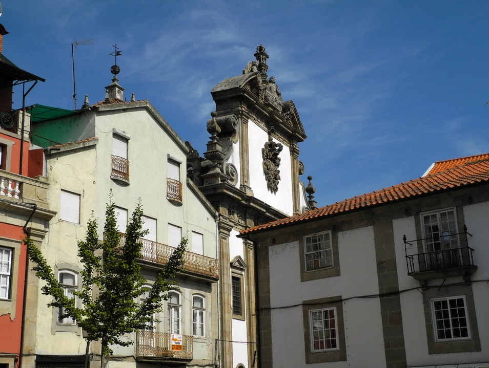 Typical Architecture of the Tras-0sMontes Region Chaves  Portugal