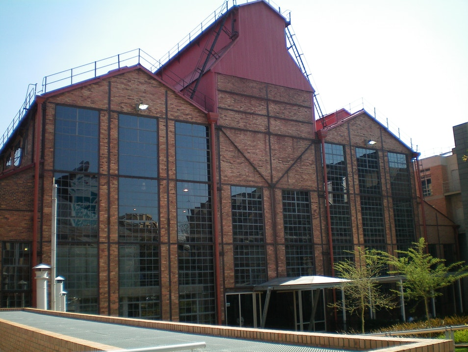Historic Turbine Hall Johannesburg  South Africa