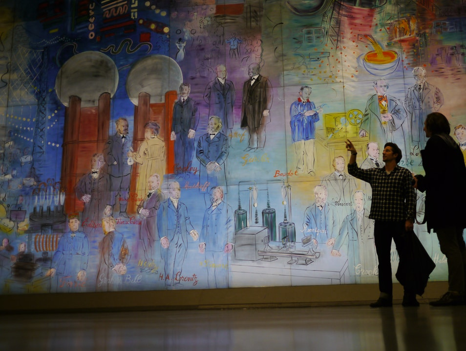 Nuit Blanche, All night, all free, all open art in Paris