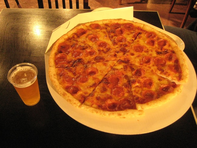 Dive into Pizza and Beer
