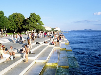 Sea Organ & Sun Salutation Zadar  Croatia