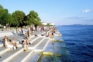 Sea Organ and Sun Salutation