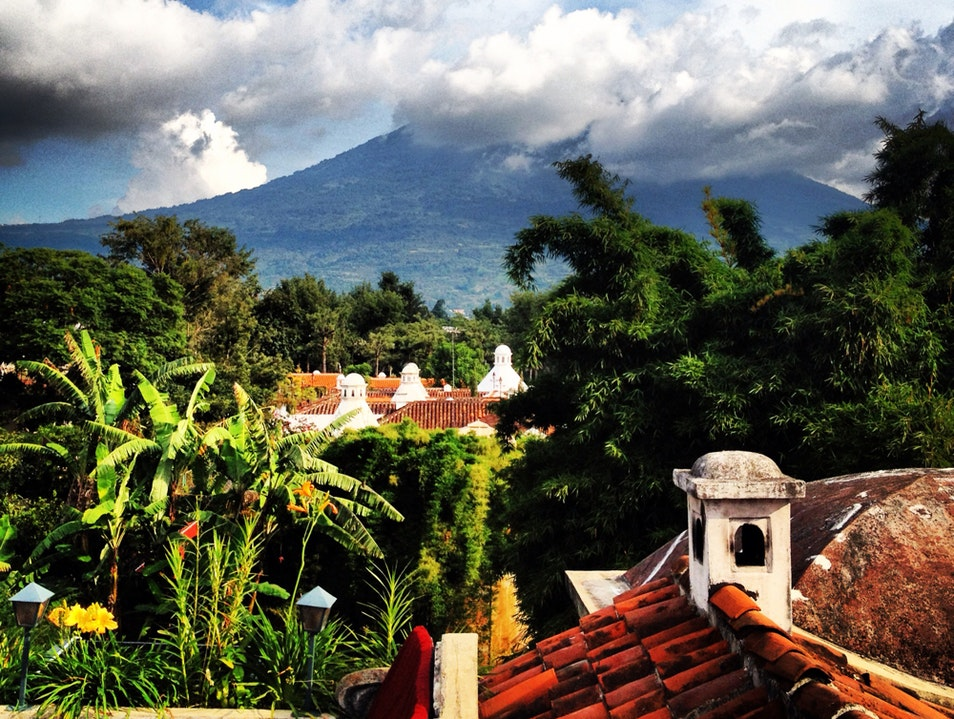 Morning Coffee With A View  Antigua Guatemala  Guatemala