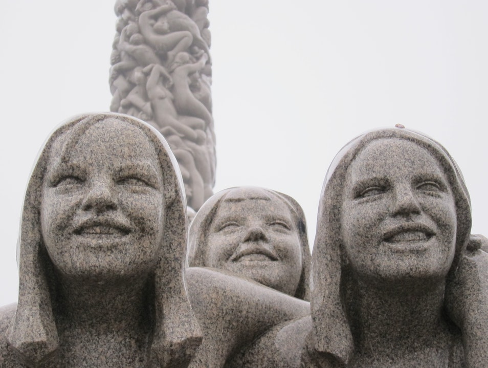 Vigeland Park revisited... Oslo  Norway
