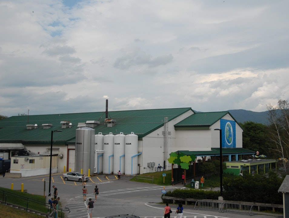 Ben & Jerry's Factory Tour Waterbury Vermont United States