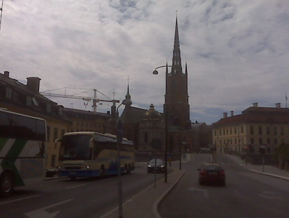View of Stockholm's Old City