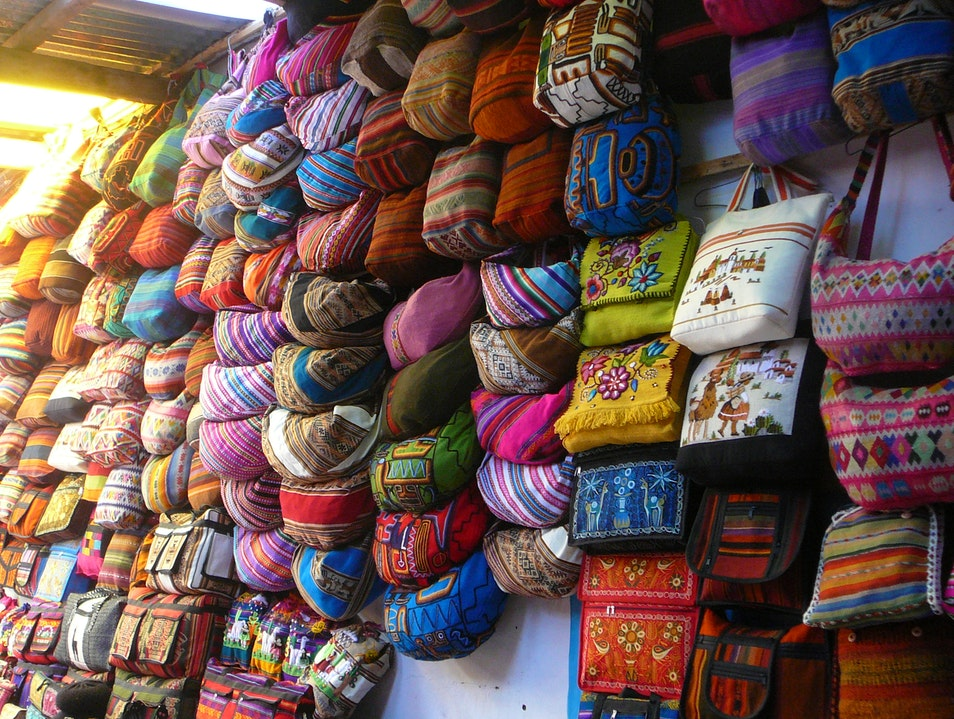 Market Day in Pisac Pisac  Peru