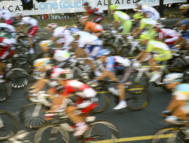 Feel the Rush of the Tour de France