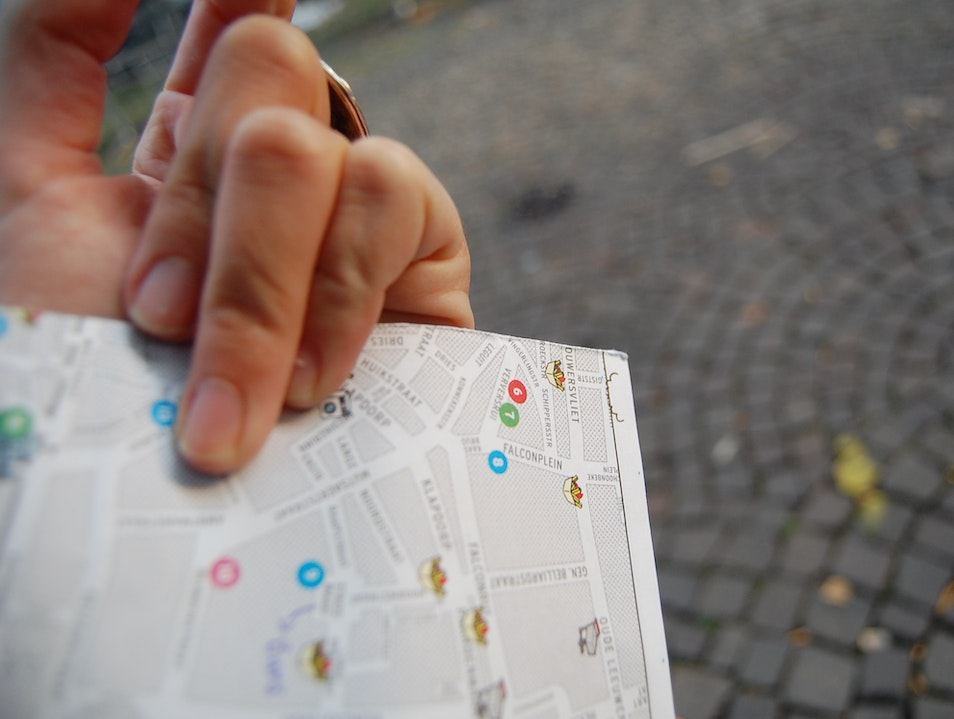 The Only Map You Need Antwerp  Belgium