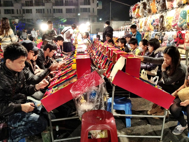 Midnight Market Madness in Tainan