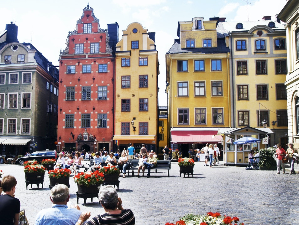 Stockholm's Gamla Stan   Earth