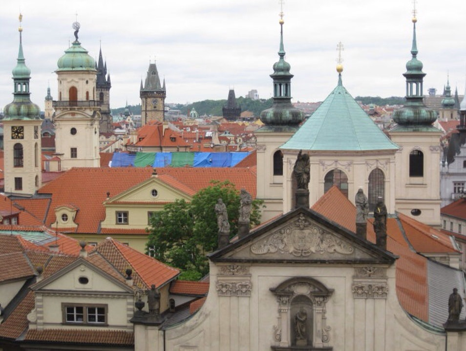 Incredible View of Old Town Prague