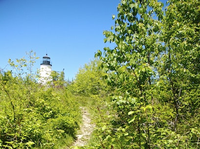 Dyce Head Lighthouse Castine Maine United States