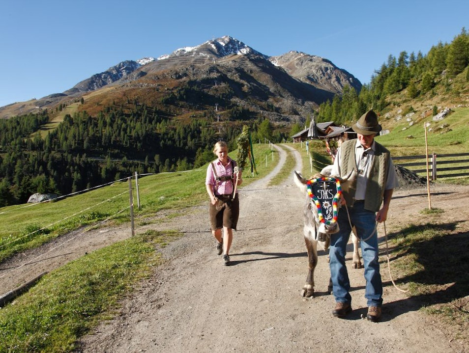 Visit a typical Tirolean Alpine hut Solden  Austria