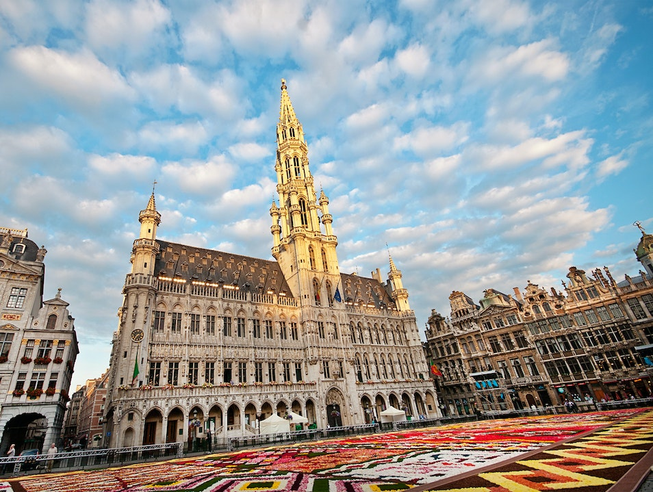 Every Even Year Grand Place is Blooming Brussels  Belgium