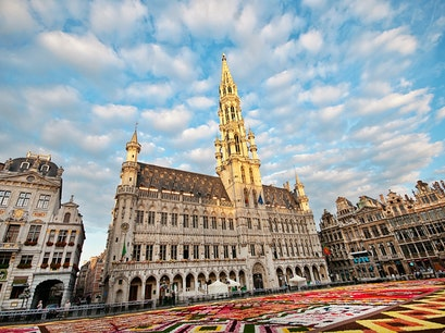 Grand Place Flower Carpet Brussels  Belgium