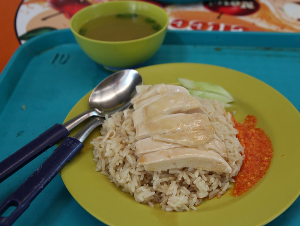 Chicken Rice, the National Dish of Singapore Singapore  Singapore
