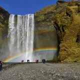 Skogarfoss (waterfall)