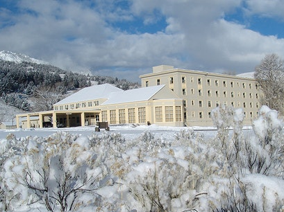 Mammoth Hot Springs Hotel & Cabins Yellowstone National Park Wyoming United States