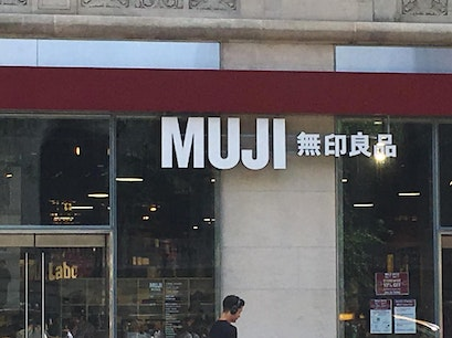 MUJI Times Square New York New York United States