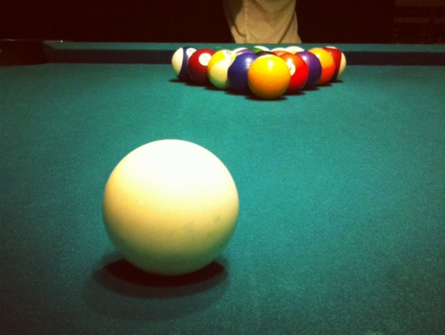 Late Night Pool Shark