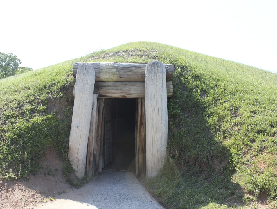 Native American Burial Mounds and Cultural Center Macon Georgia United States