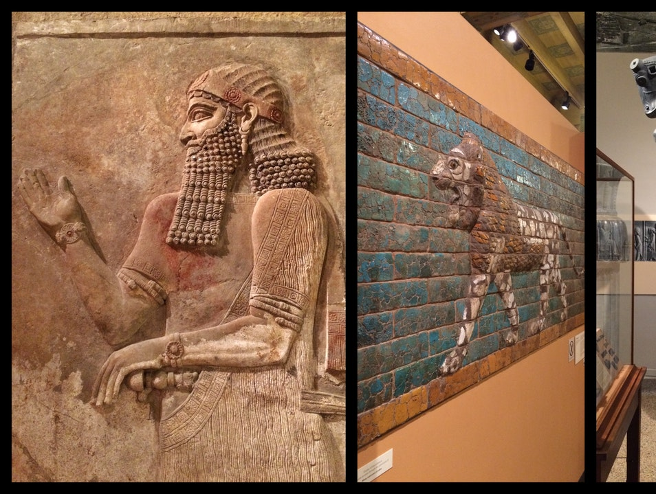 Assyria, Babylonia, Chaldea--in Chicago