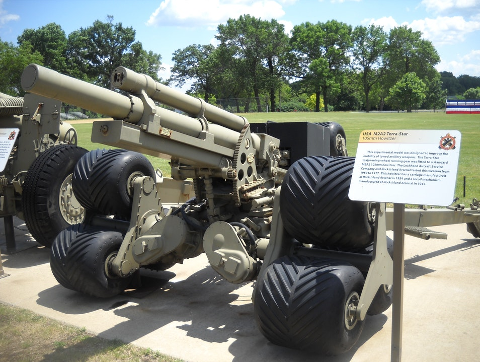 See Historical Weapons on Rock Island Rock Island Arsenal Illinois United States