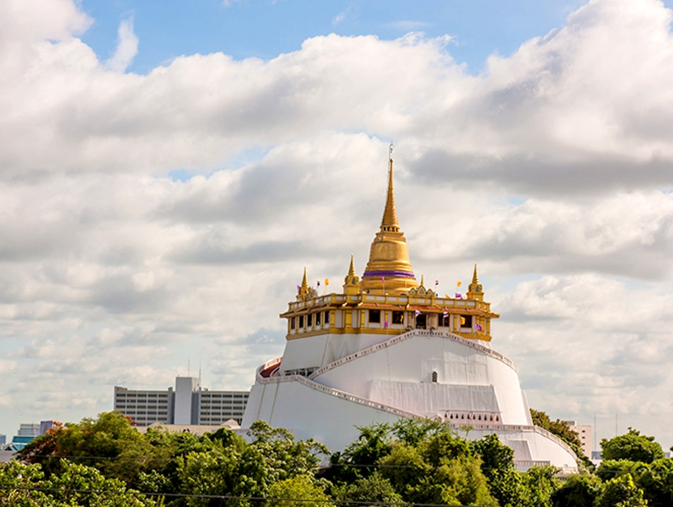 The Golden Mount's Buddhist Lore and Beautiful Views  Bangkok  Thailand