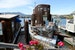 Stroll past unique floating homes Sausalito California United States