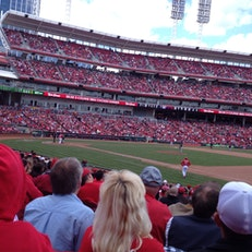 Box Seats At reds Game