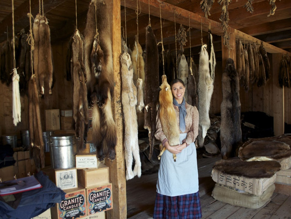 Canadian History Comes to Life at Fort St James Hudson's Bay Fort
