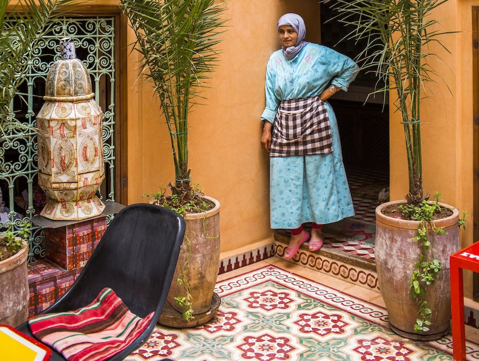 Marrakech Tea Time in Hassan Hajjaj's Gallery Marrakech  Morocco