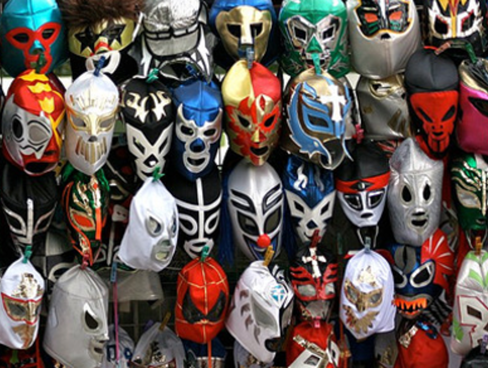 One-Stop Shop for Lucha Libre–Themed Clothes