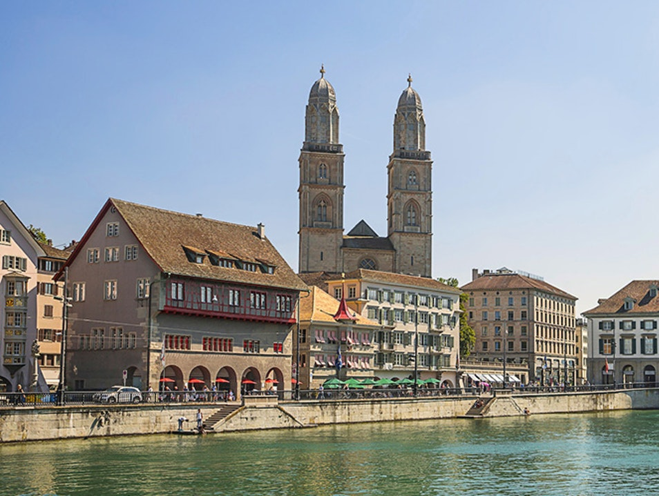 Grossmünster: Zurich's Twin Towers Zurich  Switzerland