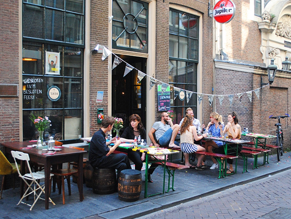 Skek: Amsterdam's Affordable, Student-Run Café  Amsterdam  The Netherlands