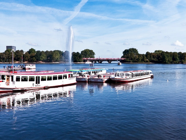 The Alster Lake