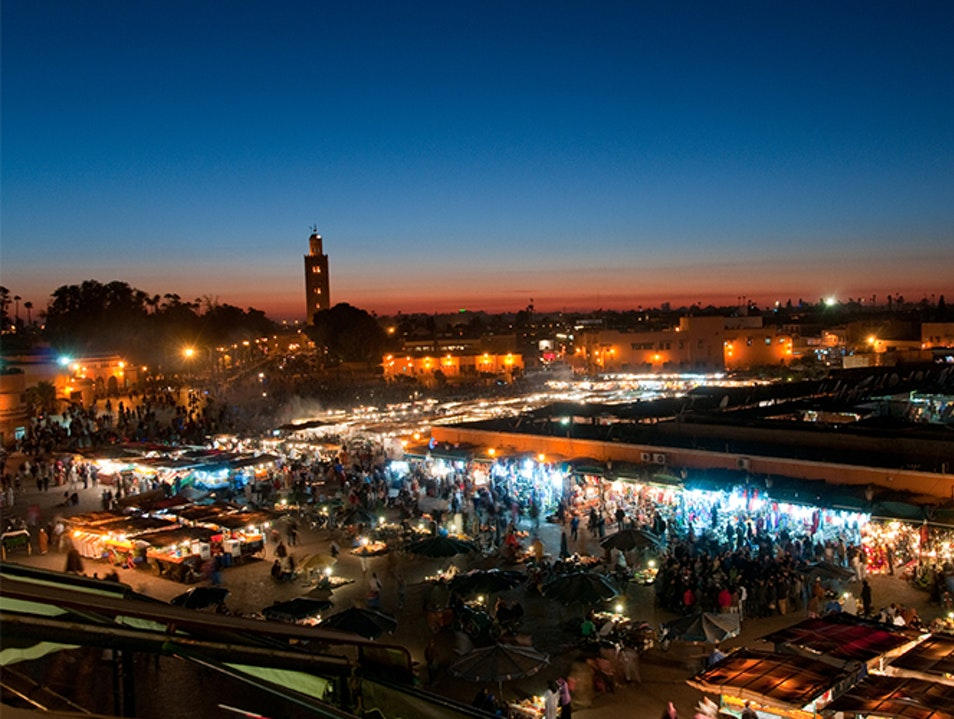 A Feast for the Senses on the Djemaa el Fna Marrakech  Morocco