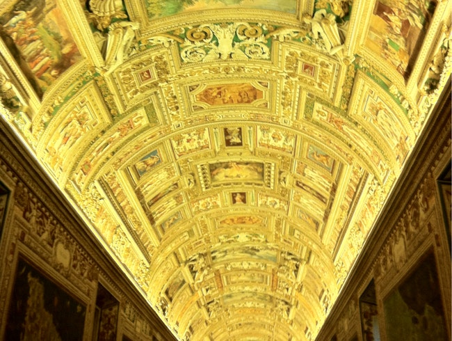 The Halls Of The Vatican
