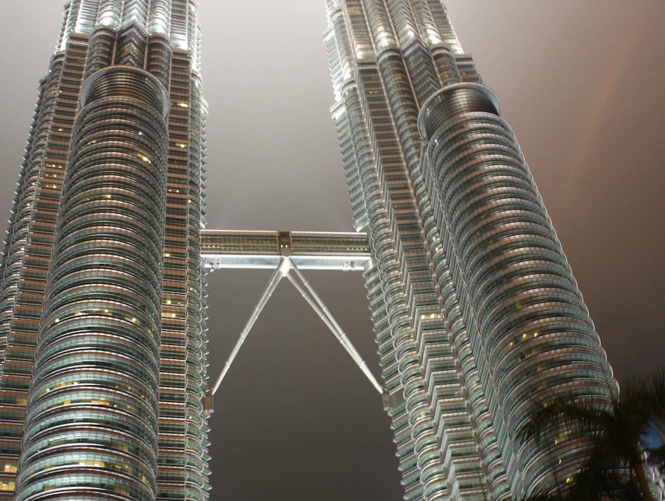 Petronas Towers - Taxi View