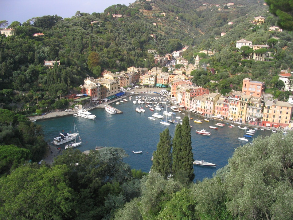 Being Bold and Beautiful in Portofino Vernazza  Italy